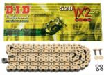 DID VXGB X-Ring Gold Chain - 525 Pitch - available in a choice of lengths